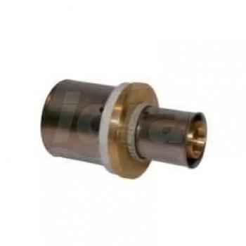 Raccordo manicotto ridotto intermedio ø40x32 press. per multistrato FK7PMR403 - A pressare per multistrato