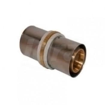Manicotto tubo / tubo D.40 press. PM4040 - A pressare per multistrato