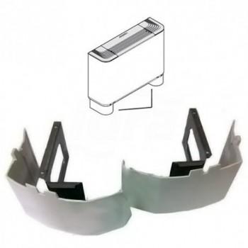 Zx 5 Coppia zoccoli per ventilconvettore FCX 17-22-32 42-50 RMCZX5