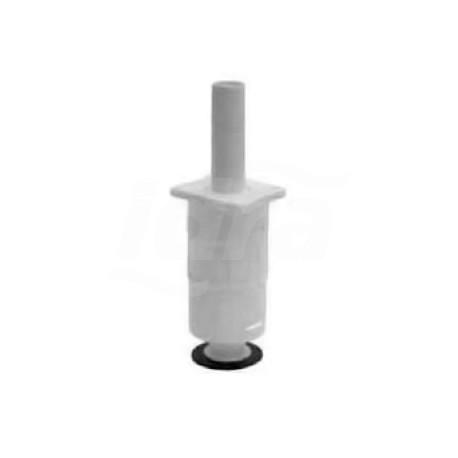 Valvola di scarico ad azionamento meccanico completa di regolazione 6/9 litri con presa tubo, dal 6/2002 COEF09RS5300