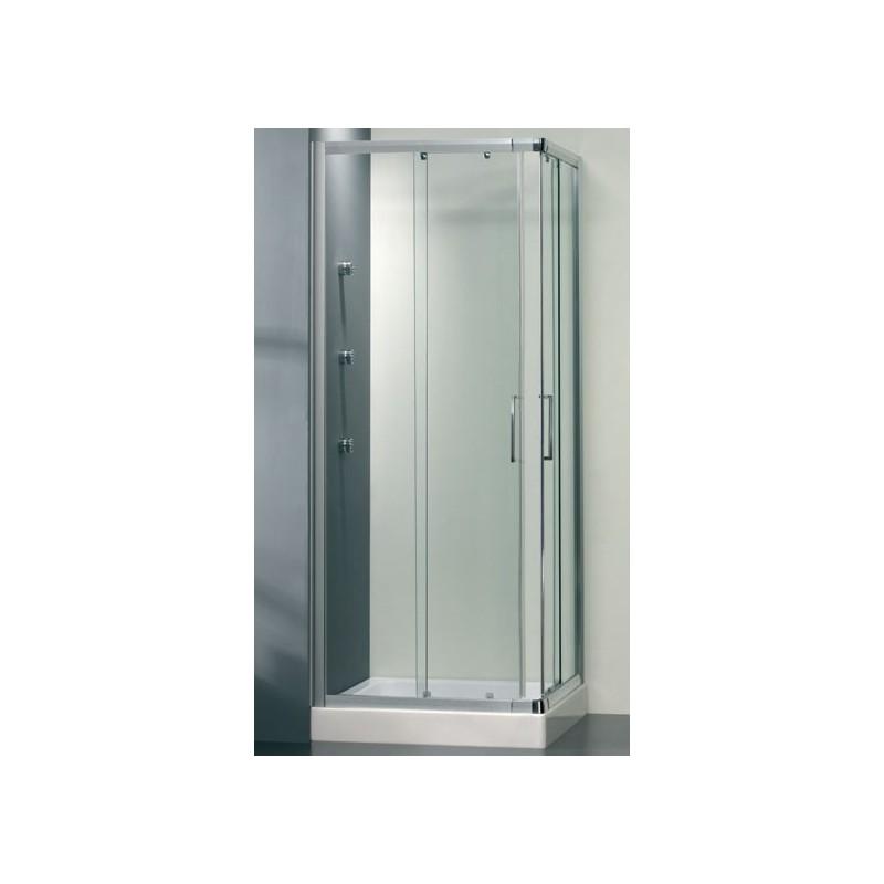 Angolare Scorrevole E4F 67-70 88-91 Argento Lux Tr per box doccia E4F0ATR0 - Box doccia in cristallo
