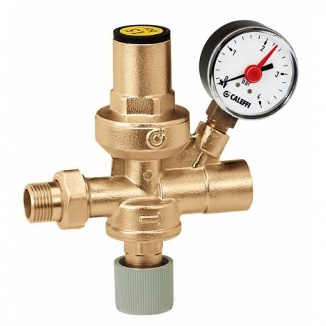 """553 gruppo di riempimento con rubinetto +monometro ø1/2"""" CAL553140"""
