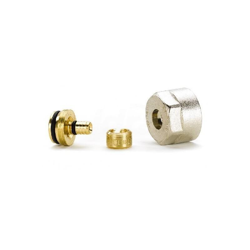 Raccordo a Vite X Tubo Pex Rautherm S D17X2mm 12506071002 - Meccanici per tubi PEX
