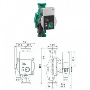Circolatore alta efficienza Yonos Pico 25/1-8 4215517