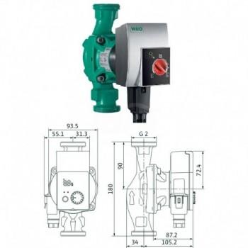 Circolatore alta efficienza Yonos Pico 30/1-8 4215521 - Centrifughe multistadio