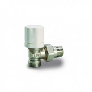Rs 2512 Valvola radiatore a squadra termostatizzabile con Vt2600T.R. 1/2 Nic.En215 12722100 - Per corpi scaldanti