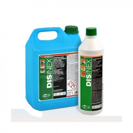 DISINEX VIRAGGIO Disincrostante a base acida. Tanica 5lt FACDIXK005