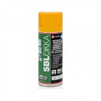 SBLOKKA SPRAY Sbloccante, istantaneo, idrorepellente, lubrificante, idroespellente, antiossidante 400ml FACSBLO400E