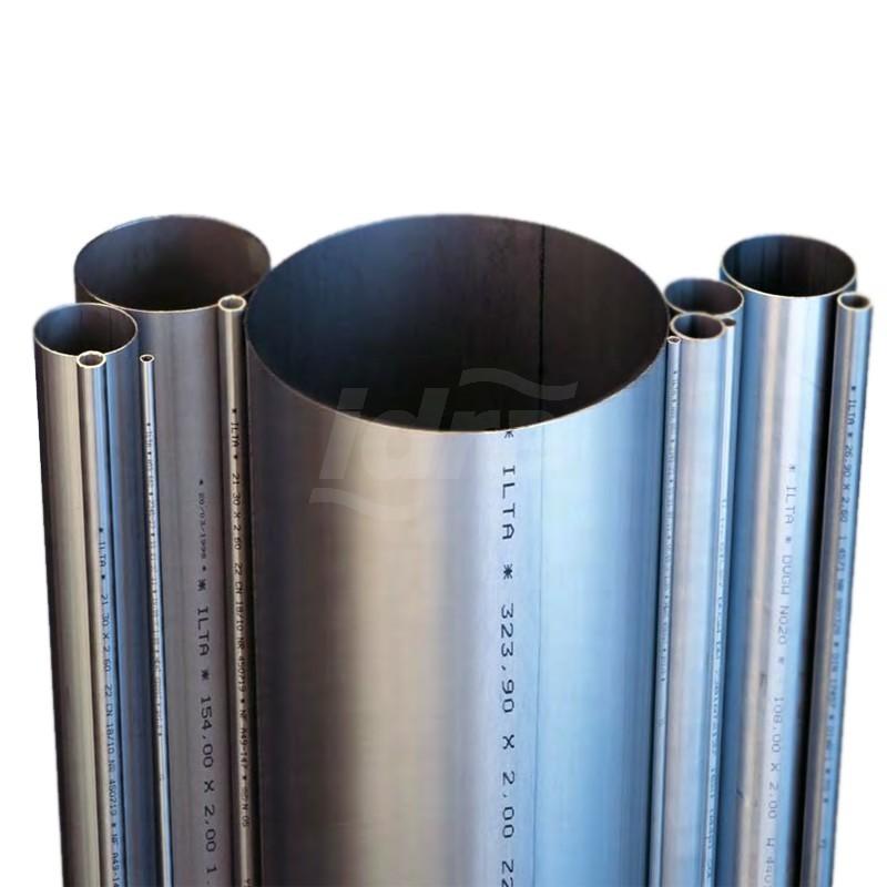 Tubo Inox AISI 304 diam. 114,3 SP 2 INOXAISI304114,3X2 - In acciaio