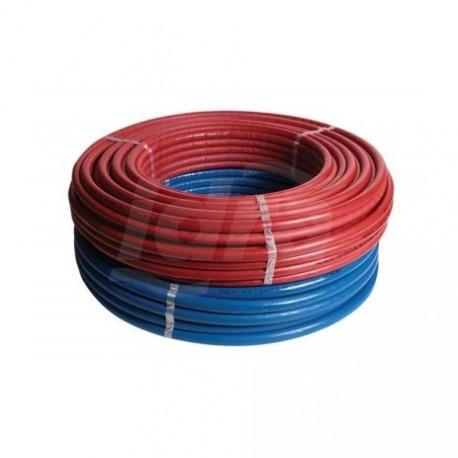 ISO4 RIXC tubo multistrato rivestimento rosso ø20x2 rotolo 50m 50-ISO4-R20-RO