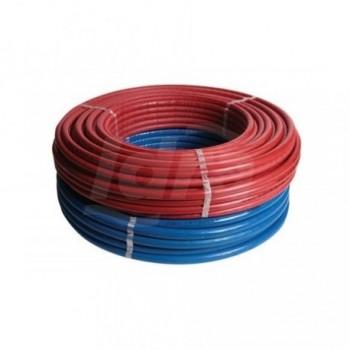 ISO4 RIXC tubo multistrato rivestimento rosso ø26x3 rotolo 50m HCO50-ISO4-R26-RO