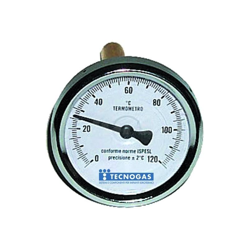 Termometro bimetallico  -30/50 post.d.80 gambo 100 TCG00000R02896
