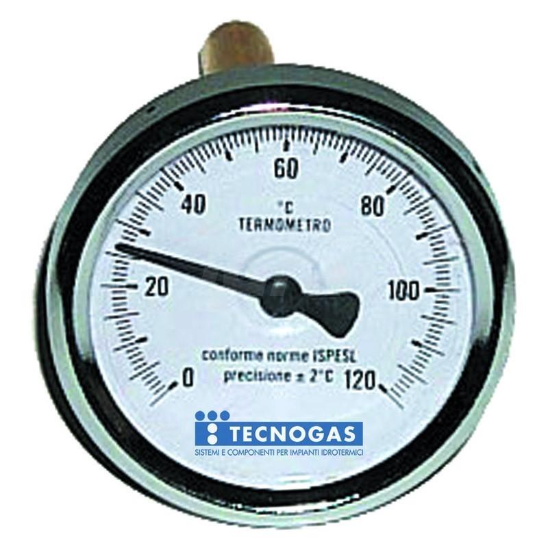 Termometro bimetallico 0/120 post.d.63 gambo TCG00000R02898