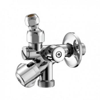 """551 rubinetto combi per lavatrice ø1/2""""mx3/4""""mx10 con filtro PIA0551B400CR"""