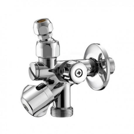 """551 rubinetto combi per lavatrice ø1/2""""mx3/4""""mx10 con filtro 0551B400CR"""