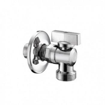 """555 rubinetto lavatrice Chiusura sfera ø1/2""""x3/4""""m PIA05550400CR"""