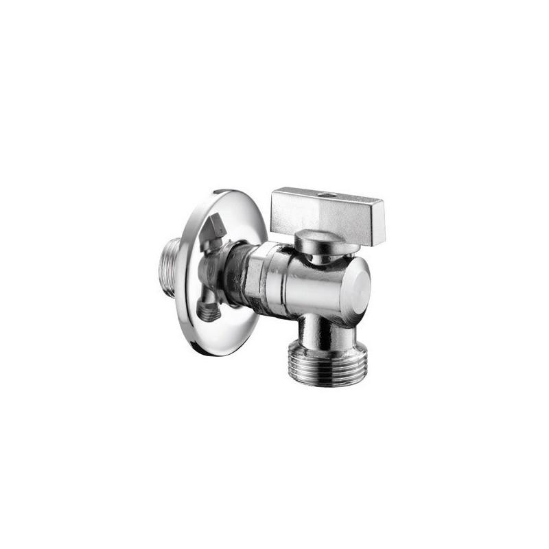 """555 rubinetto lavatrice Chiusura sfera ø1/2""""x3/4""""m 05550400CR"""