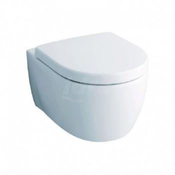 FAST vaso sospeso bianco con sedile e kit di fissaggio POG78315000