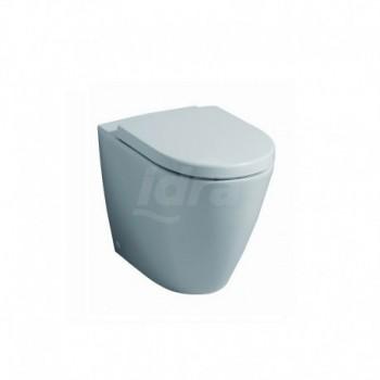 FAST vaso MULTI filo parete TRAS. Con sedile e kit di fissaggio POG78331000