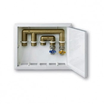 Scatola incasso House Box Coperchio Bianco 370X310X82mm 9899-007-801