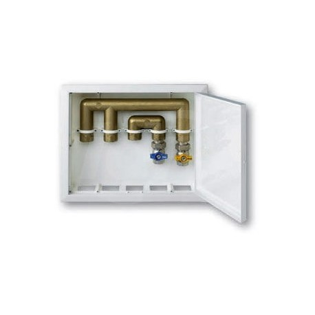 Scatola incasso House Box Coperchio Bianco 370X310X82mm NIC9899-007-801