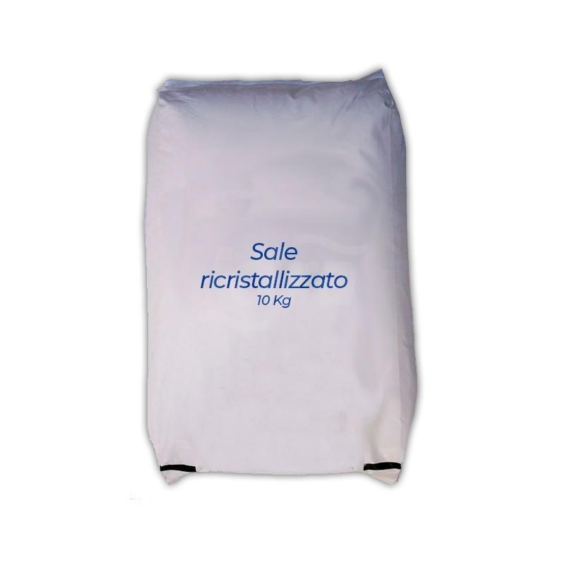 Sale ricristalizzato in sacco da 10 kg. SPG4461403