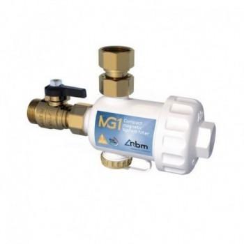 """MG1 Filtro defangatore magnetico sotto-caldaia, bianco DN 3/4"""" 30700550 - Sicurezza/Vasi/Centrale termica"""