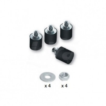 Kit Antivibranti A Pavimento 40X40mm 9898-026