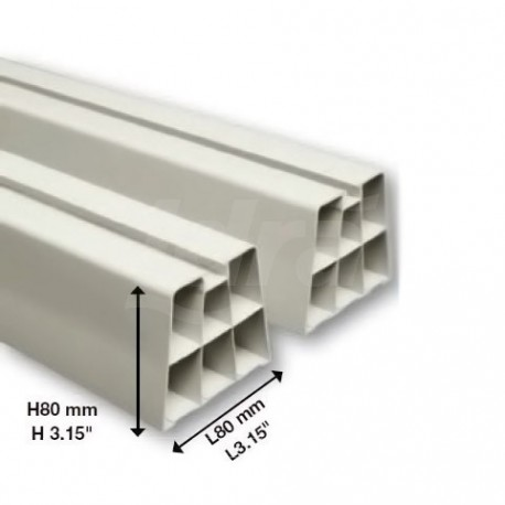 Base A Pavimento Pvc Avorio 450X80mm 9898-031-01