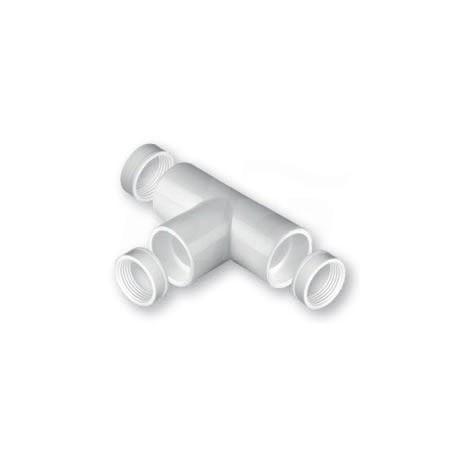 Raccordo A Tee Pvc ø20mm con o-ring NIC9903-105-08