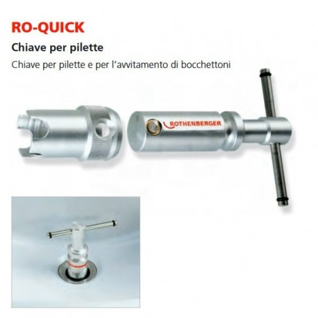 Chiavi Per Pilette Ro-Quick+Adattatore I 70439