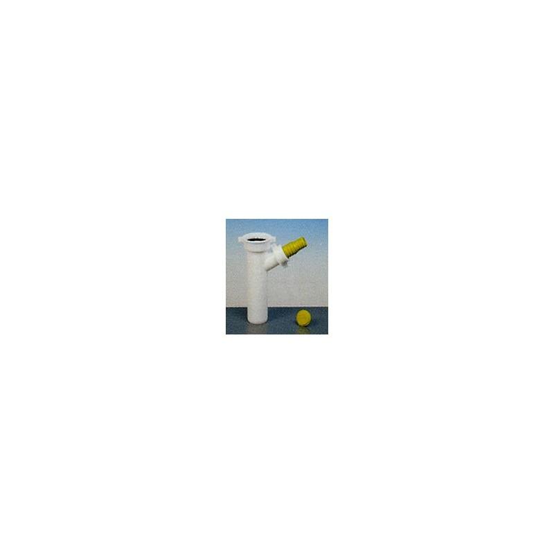Art./9 racc.+att. Lavast./lavatr. Ø40 bianco LIR8.2407.05