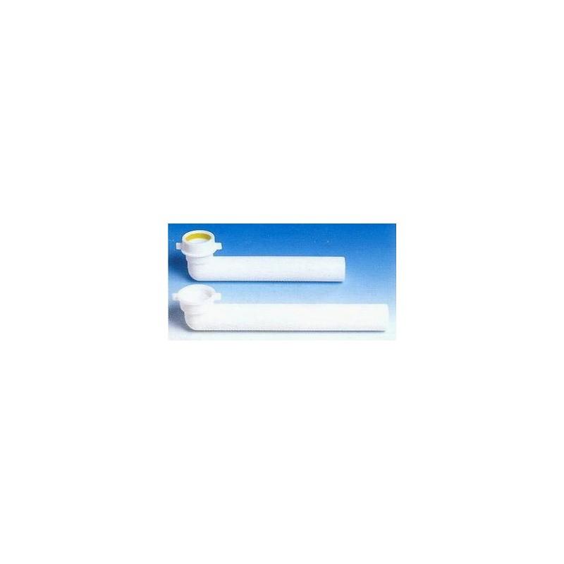 Jolly 002431 prol. Curva ø40x1.1/2 l.280 bianco LIR8.2431.01