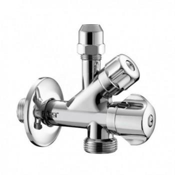 """550 rubinetto combi  x lavatrice ø1/2""""x3/4""""x10 senza filtro PIA0550S400CR"""