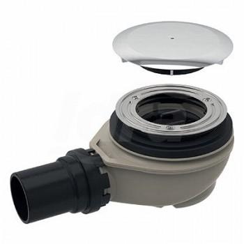 Sifone ø90 con tappo ø40mm 0,65lt/sec per piatto doccia POG150.552.21.1