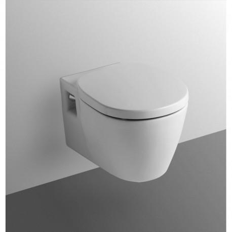 CONNECT wc sospeso con sedile bianco europa IDSE715901