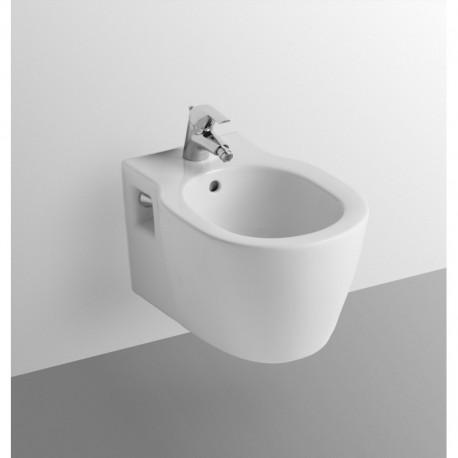 CONNECT bidet sospeso monoforo bianco europa E799701 - Bidet
