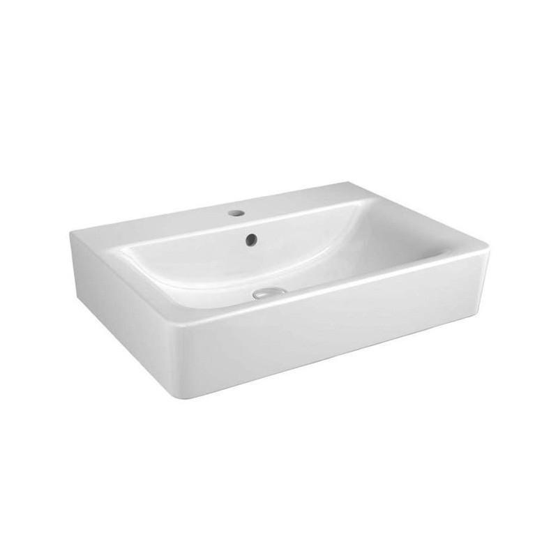 CONNECT CUBE lavabo 65x46 bianco europa E772901 - Lavabi e colonne