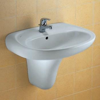 GARDA lavabo sospeso 65x51 bianco IDSJ090300