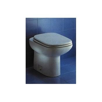 RIO sedile legno plastificato bianco con cerniere inox IDSJ101300 - Sedili per WC