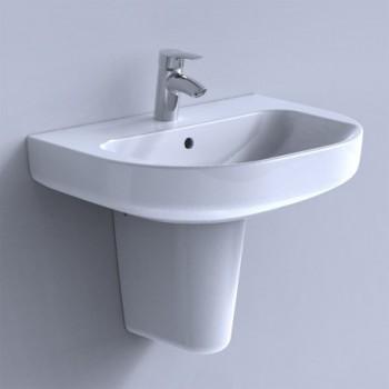 CRISTALLO colonna per lavabo bianco IDSJ447400