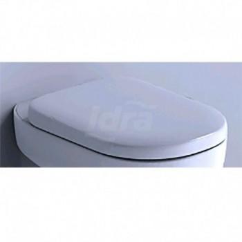 CRISTALLO sedile bianco con cerniere inox IDSJ448500