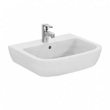 GEMMA 2 lavabo monoforo 60x49,5 bianco europa J521201 - Lavabi e colonne