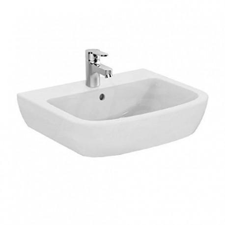 GEMMA 2 lavabo monoforo 60x49,5 bianco europa IDSJ521201