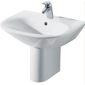 TONIC lavabo monoforo 65x52 bianco europa NEW IDSK068961