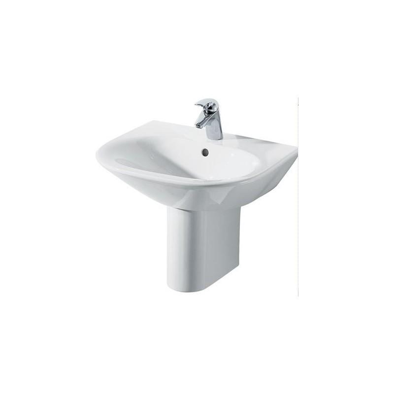TONIC lavabo monoforo 65x52 bianco europa NEW K068961 - Lavabi e colonne