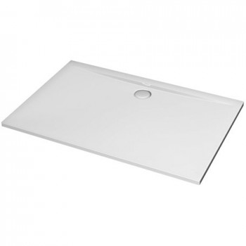 ULTRA FLAT piatto doccia rettangolare 100x70 bianco europa IDSK193501