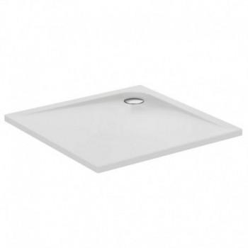 Ultra Flat Piatto doccia in acrilico quadrato 100x100 cm IDSK517401 - Piatti doccia