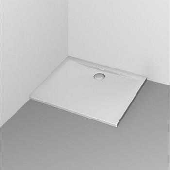 ULTRA FLAT piatto doccia rettangolare 90x80 bianco europa K517801 - Piatti doccia