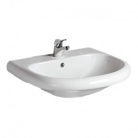 TESI CLASSIC lavabo bacino ampio 70x57,5 bianco europa NEW IDST091561